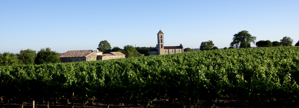 Vignobles Berrouet Eglise de St Georges